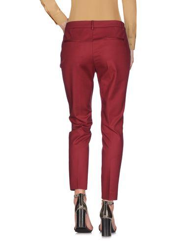 Фото 2 - Повседневные брюки от ARGONNE кирпично-красного цвета