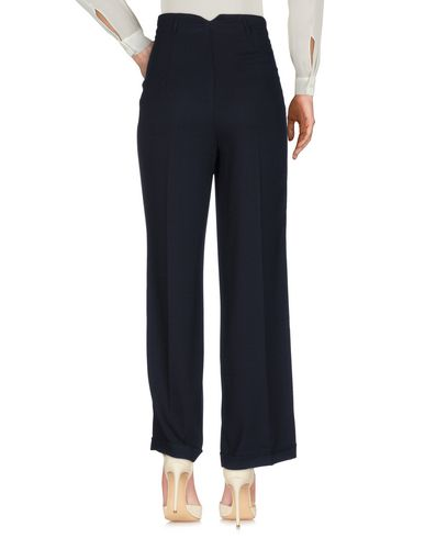 Фото 2 - Повседневные брюки от SOALLURE темно-синего цвета