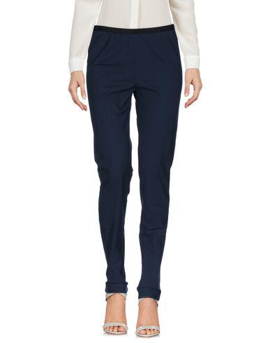 Фото - Повседневные брюки от QL2  QUELLEDUE темно-синего цвета