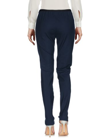 Фото 2 - Повседневные брюки от QL2  QUELLEDUE темно-синего цвета