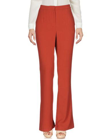 Фото - Повседневные брюки от TY-LR кирпично-красного цвета