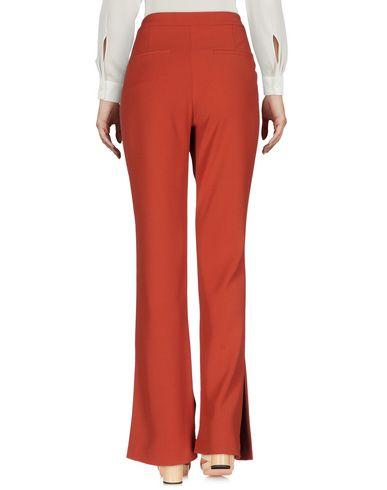 Фото 2 - Повседневные брюки от TY-LR кирпично-красного цвета