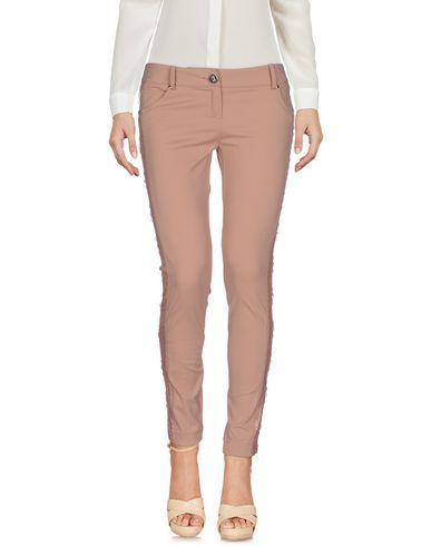 Фото - Повседневные брюки от ELISABETTA FRANCHI GOLD цвет телесный