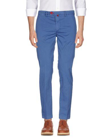 Фото - Повседневные брюки от BARONIO пастельно-синего цвета