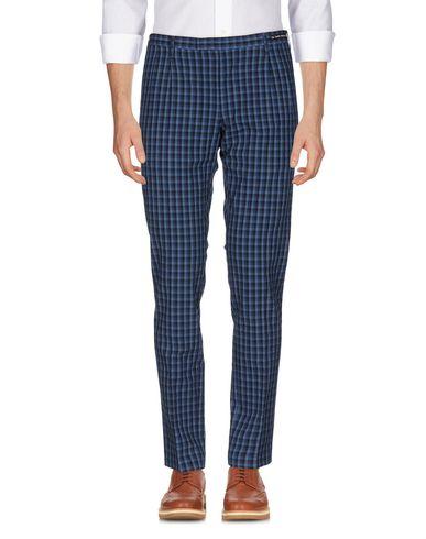 Купить Повседневные брюки от PT01 GHOST PROJECT грифельно-синего цвета