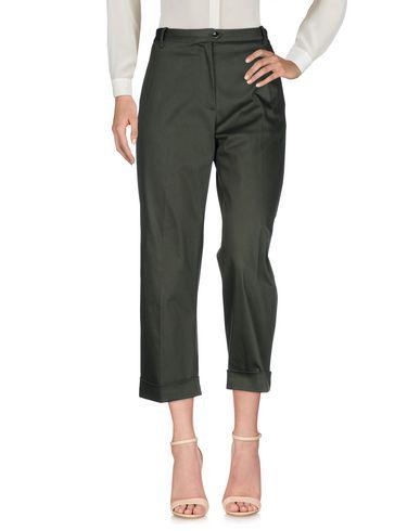 Фото - Повседневные брюки от NINE:INTHE:MORNING темно-зеленого цвета