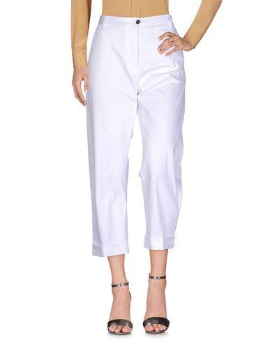 Фото - Повседневные брюки от NINE:INTHE:MORNING белого цвета