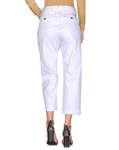 Фото 2 - Повседневные брюки от NINE:INTHE:MORNING белого цвета