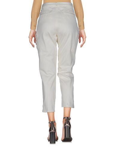 Фото 2 - Повседневные брюки от TWINSET цвет слоновая кость