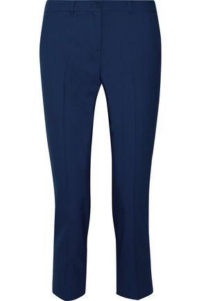 MICHAEL KORS COLLECTION Samantha cropped stretch-wool skinny pants