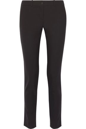 MICHAEL KORS COLLECTION Samantha stretch-cotton slim-leg pants
