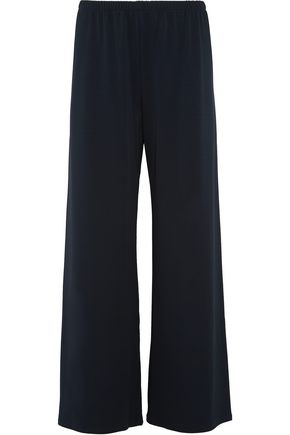 THE ROW Lala stretch-jersey wide-leg pants
