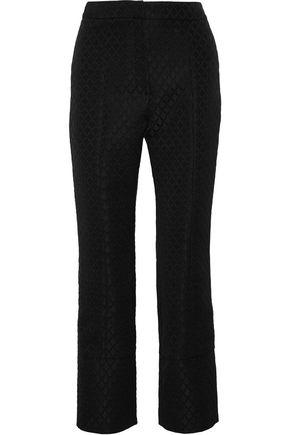 ERDEM Verity jacquard straight-leg pants