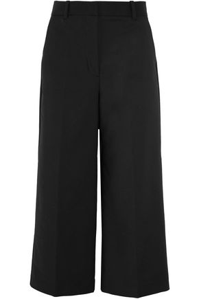 3.1 PHILLIP LIM Cropped stretch cotton-blend wide-leg pants