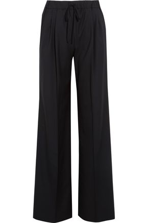 MAX MARA Wool-twill wide-leg pants