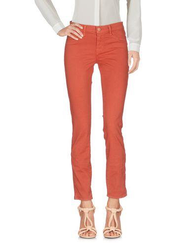 Фото - Повседневные брюки ржаво-коричневого цвета