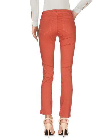 Фото 2 - Повседневные брюки ржаво-коричневого цвета