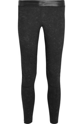 monreal london female monreal london woman biker stretchjersey leggings black size l