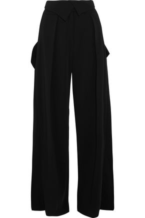 PREEN by THORNTON BREGAZZI Carson stretch-crepe wide-leg pants