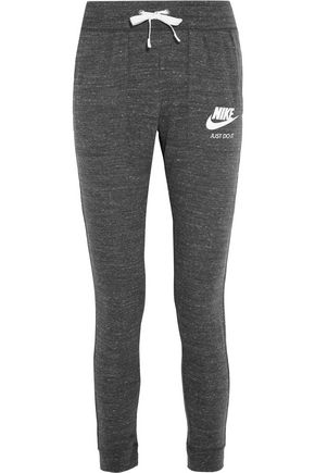 NIKE Gym Vintage cotton-blend jersey track pants