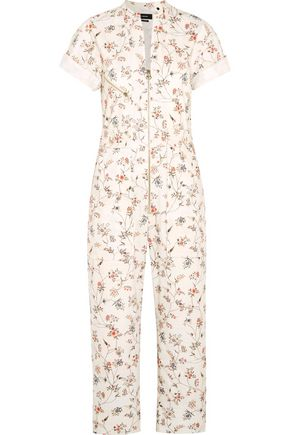 ISABEL MARANT Talma floral-print cotton jumpsuit