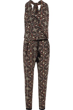TALITHA Raj printed silk-georgette jumpsuit