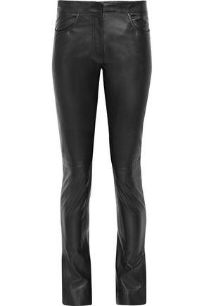 LOEWE Leather skinny pants