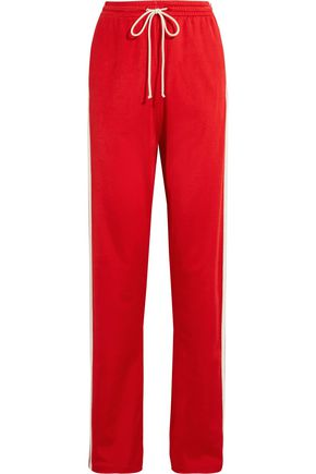 MM6 by MAISON MARGIELA Paneled stretch-jersey track pants