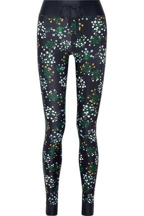 THE UPSIDE Ditsy floral-print stretch leggings
