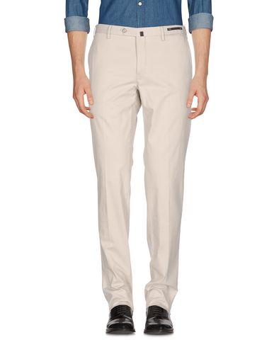 Фото - Повседневные брюки от PT01 светло-серого цвета