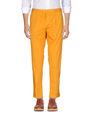 Фото - Повседневные брюки от GTA IL PANTALONE цвет охра