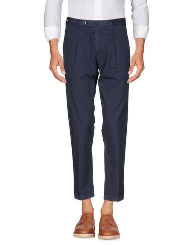 Фото - Повседневные брюки от GTA IL PANTALONE темно-синего цвета