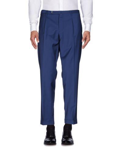 Фото - Повседневные брюки от GTA IL PANTALONE синего цвета
