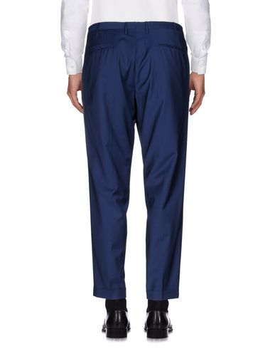 Фото 2 - Повседневные брюки от GTA IL PANTALONE синего цвета