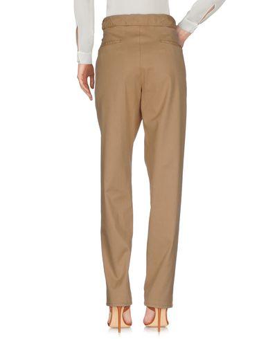 Фото 2 - Повседневные брюки от PT01 цвет верблюжий