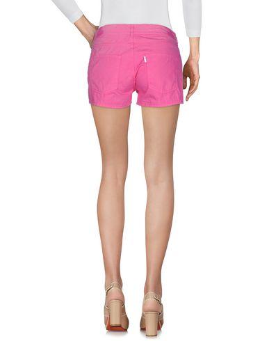 Фото 2 - Повседневные шорты розового цвета