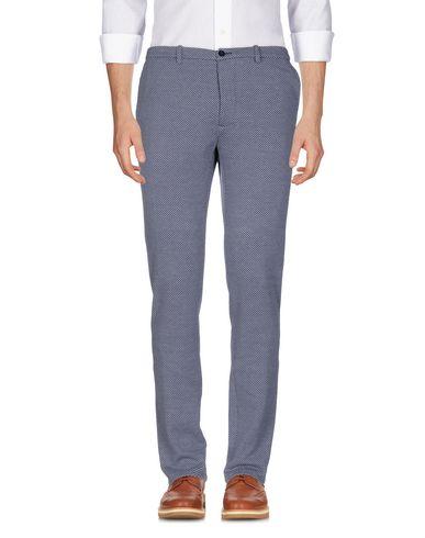 Фото - Повседневные брюки от OBVIOUS BASIC темно-синего цвета