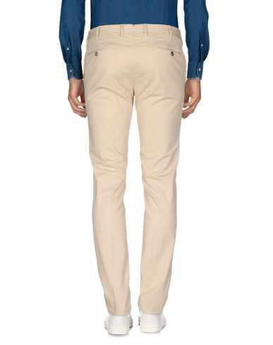 Фото 2 - Повседневные брюки от PT01 цвет слоновая кость