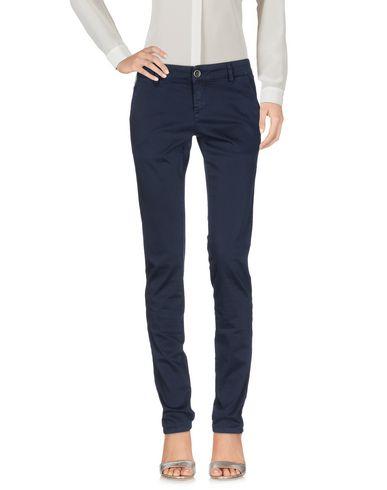 Фото - Повседневные брюки от 9.2 BY CARLO CHIONNA темно-синего цвета
