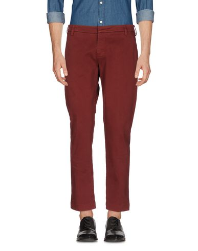 Фото - Повседневные брюки от ENTRE AMIS красно-коричневого цвета