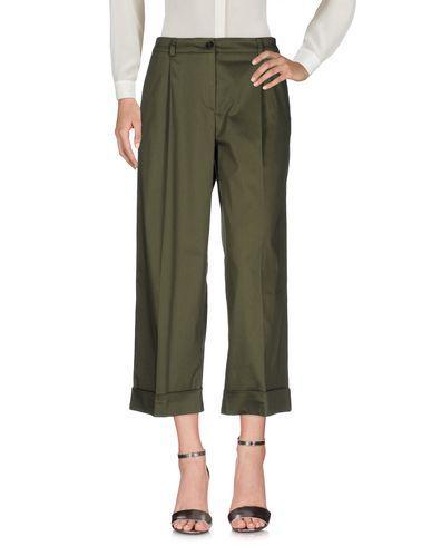 Фото - Повседневные брюки от P.A.R.O.S.H. цвет зеленый-милитари