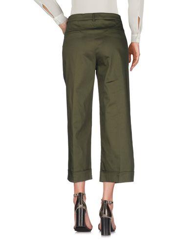 Фото 2 - Повседневные брюки от P.A.R.O.S.H. цвет зеленый-милитари