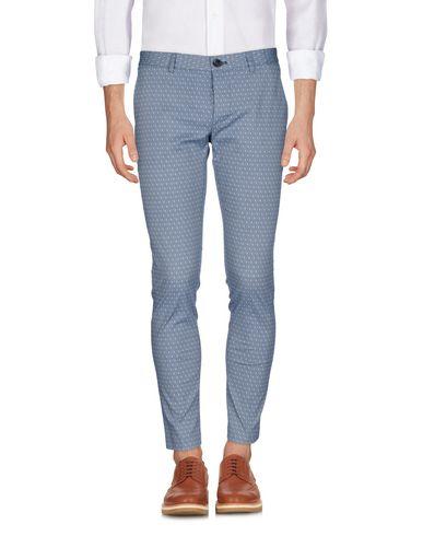 Фото - Повседневные брюки от OBVIOUS BASIC синего цвета