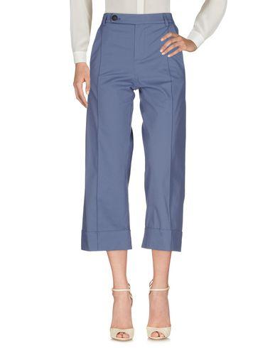 Фото - Повседневные брюки от TELA грифельно-синего цвета