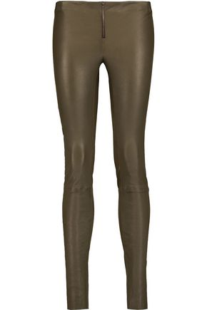 ALICE+OLIVIA Leather leggings
