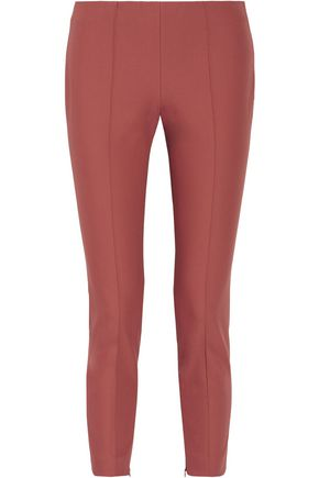 THEORY Cotton-blend skinny pants