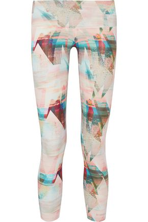 BODYISM I Am Serene stretch-jersey leggings