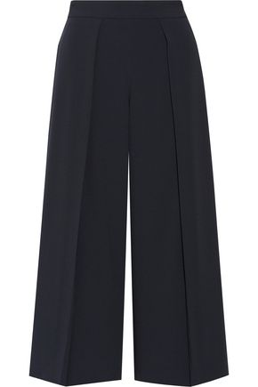 RAG & BONE Rowe cropped pleated crepe wide-leg pants