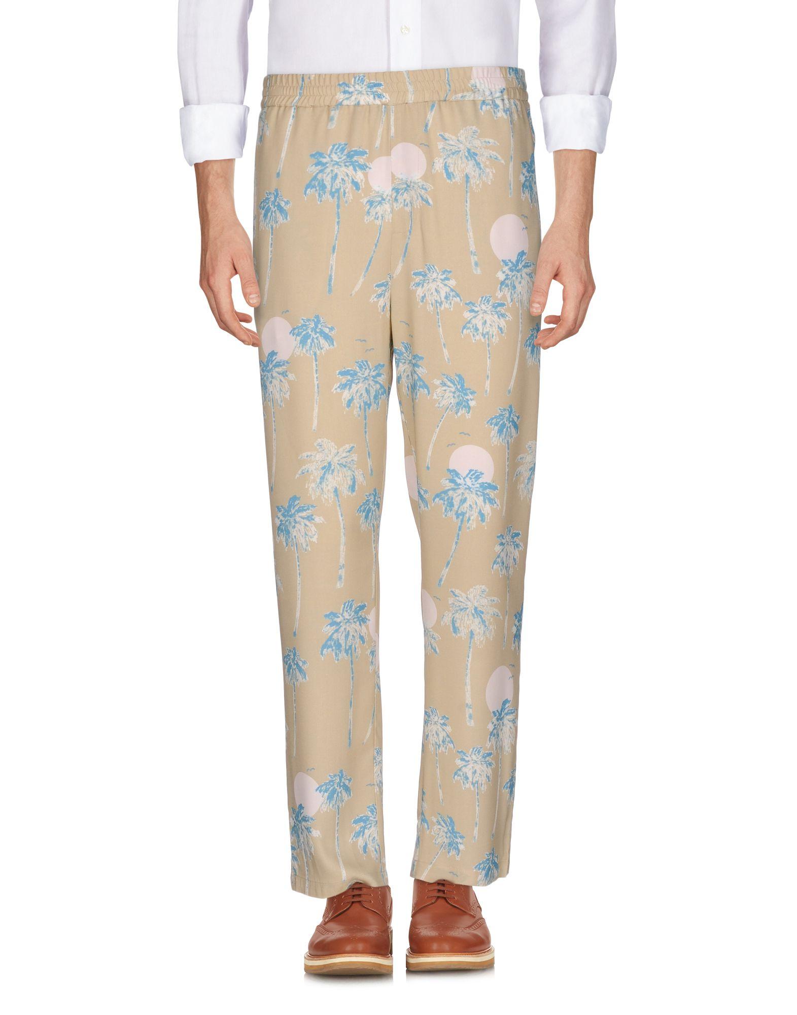 《送料無料》WESC メンズ パンツ サンド S レーヨン 100%