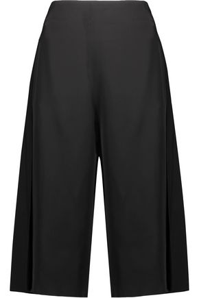 ACNE STUDIOS Caryn wool blend-paneled satin culottes